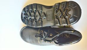 Giày bảo hộ lao động da váng loại 2 TGCN-26967 ABC
