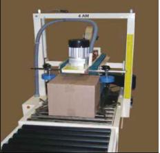 Máy dán băng keo thùng carton bán tự động 4AM SIGNODE