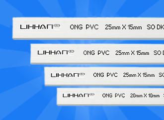 Nẹp nhựa vuông luồng dây điên 30mm x 18mm x 1,9m TGCN-25479 LIHHAL