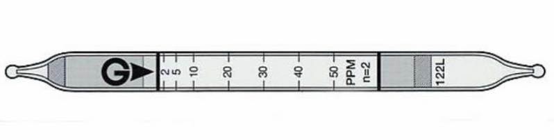 Ống phát hiện nhanh Benzene C6H6 121L Gastec