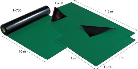 Thảm caosu chống tĩnh điện F-705 Hozan