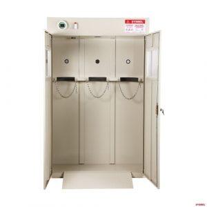 Tủ đựng bình khí Gas Cylinder Storage Cabinet - chứa 03 bình WA710103 SYSBEL