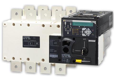 Bộ chuyển nguồn tự động 3 pha Atys  3P_160A - 230VAC Socomec