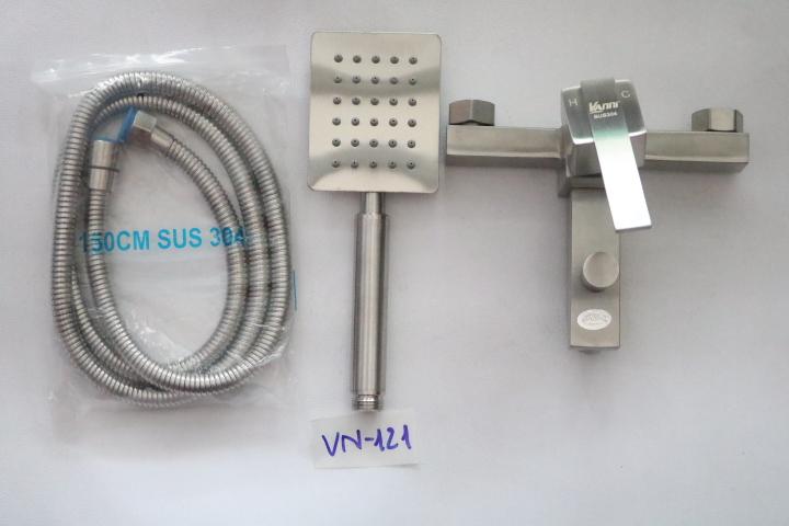 Bộ vòi sen nóng lạnh inox 304 VN-121 VANNI