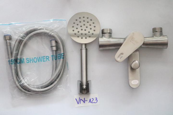 Bộ vòi sen nóng lạnh inox 304 VN-123 VANNI