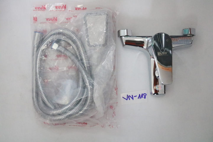 Bộ vòi củ sen nóng lạnh  VN-118 VANNI