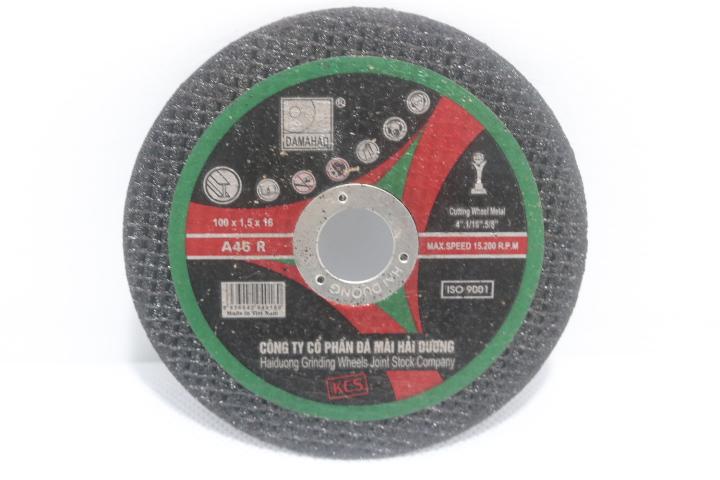 Đá cắt kim loại  A46R BF 100 x 1.5 x 16mm HAI-DUONG