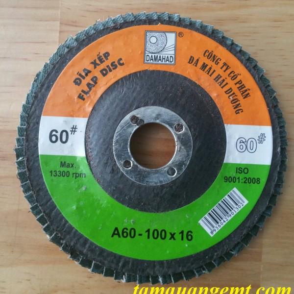 Đá nháp xếp  A60-100x16 HAI-DUONG
