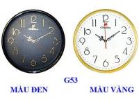 Đồng hồ treo tường G53 (màu đen) GIMIKO