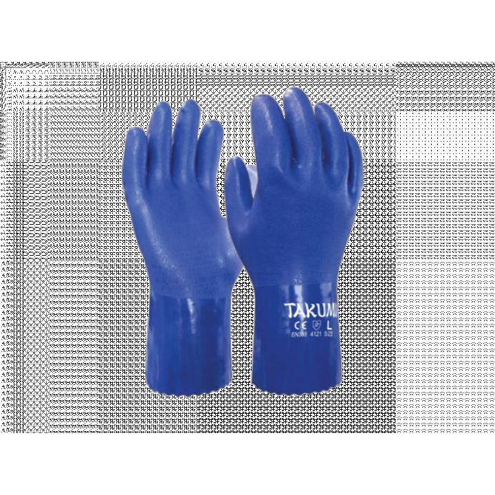 Găng tay chống hóa chất PVC-600L TAKUMI