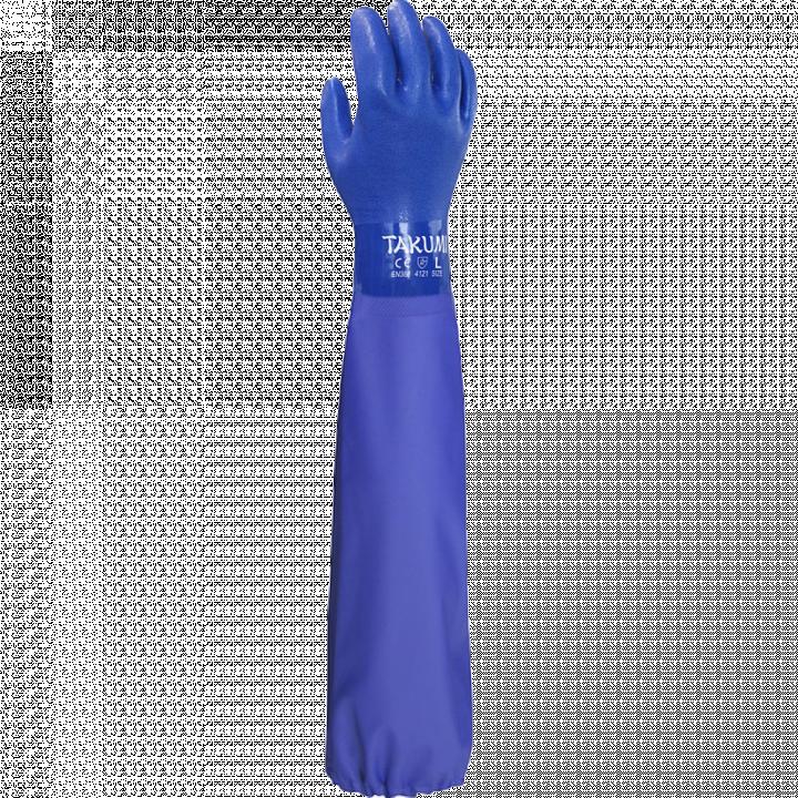 Găng tay chống hóa chất PVC-600X TAKUMI