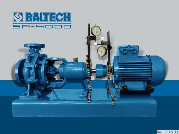 Hiệu chuẩn thiết bị đo độ đồng tâm SA-4000 CALIBRATION BALTECH