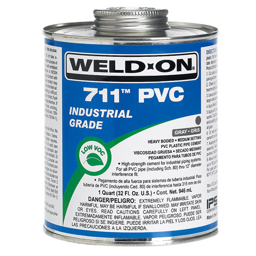 Keo dán ống  711QT GRY WELD-ON