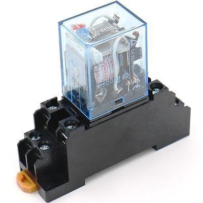 Rơ le trung gian 8 chân   MY2N-GS 24VDC Omron