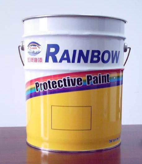 Sơn phủ epoxy màu vàng 1001 Lemon Yellow - 4L Rainbow