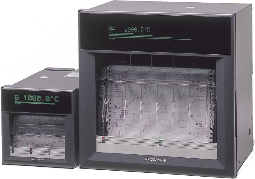 Thiết bị ghi nhiệt µR10000 Yokogawa