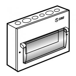 Tủ điện kim loại chứa 9 MCB EM9PL SINO