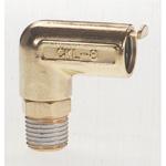 Co nối bằng đồng ống phi 6, ren ngoài 1/8 CKL-6-01 CHIYODA