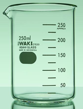 Cốc thủy tinh thấp thành 50ml 1000BK50 IWAKI