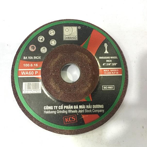 Đá mài bavia inox 100x6x6 mm WA60 P 100x6x16 DAMAHAD(HaiDuong)