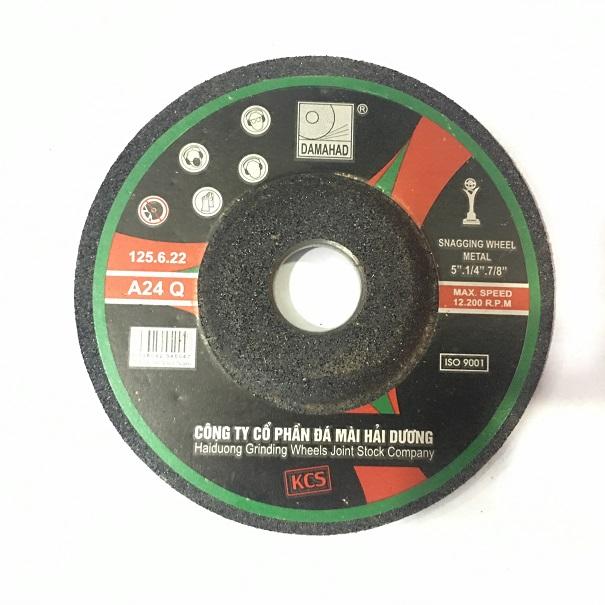 Đá mài bavia kim loại 125x6x22 mm A24 Q B F 125x6x22 DAMAHAD(HaiDuong)