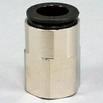 Đầu nối nhanh ren trong 1/4 cắm ống nhanh phi 10 F10-02F CHIYODA