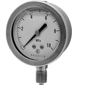 Đồng hồ đo áp xuất GV-51-183 / 0~0.1MPa Nagano-Keiki