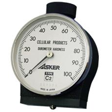 Hiệu chuẩn đồng hồ đo độ cứng cao su Type C2 ( 2 pointer ) Asker