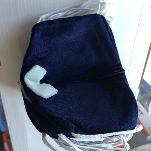 Khẩu trang chống bụi 3 lớp lọc màu xanh KT5 xanh VIETNAMPROTECTIONS