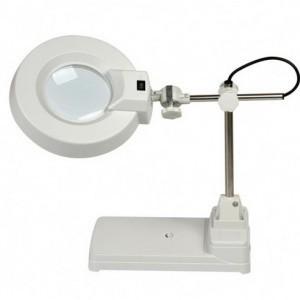 Kính lúp để bàn đèn huỳnh quang, có độ phóng đại 8X  LT-86B   8X China