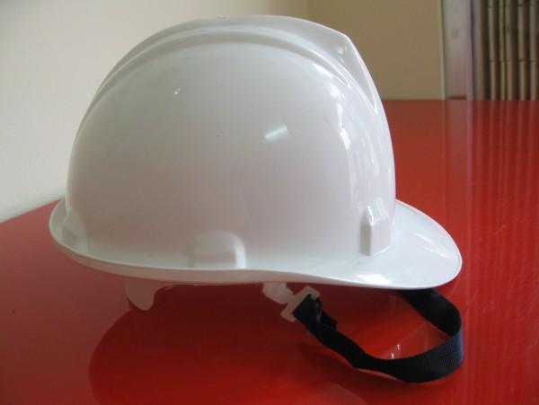 Nón bảo hộ nhựa có khóa cài  N.004 màu trắng BaoBinhSafety