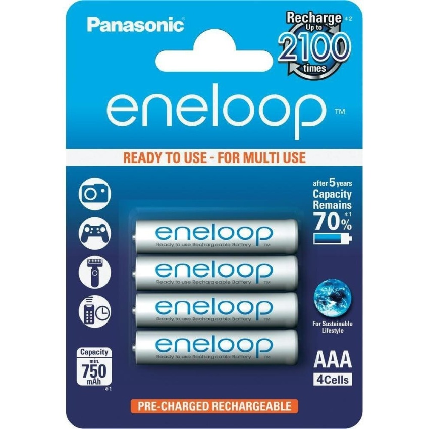 Pin sạc Eneloop AAA BK-4MCCE/4BV Panasonic