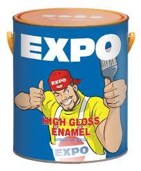 Sơn dầu poly màu vàng poly444 EXPO