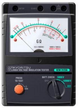 Đồng hồ đo điện trở cách điện 3123A KYORITSU