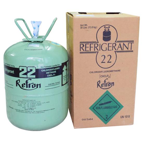 Gas lạnh, ga lạnh R22 13.6kg Refron