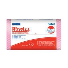 Khăn lau Wypall Colour Coded Regular SSH màu đỏ 94143 Kimberly-clark