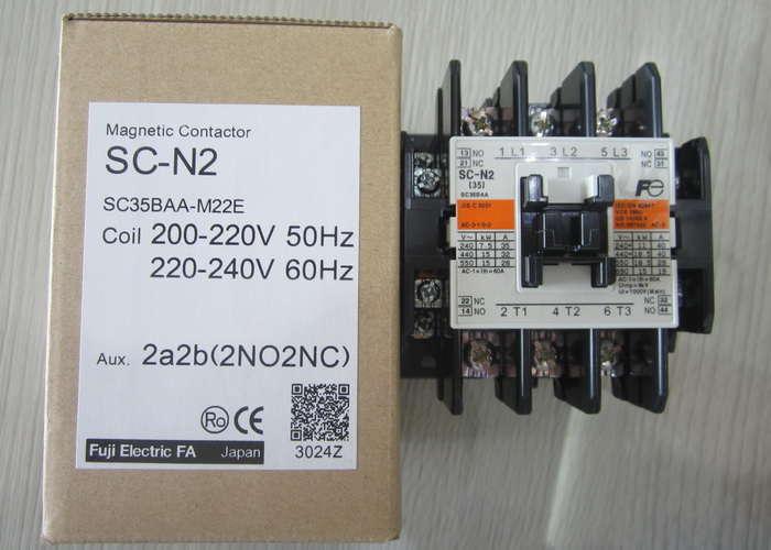 Khởi động từ  40A-220V, 2NO+2NC SC-N2 220 Fuji-Electric