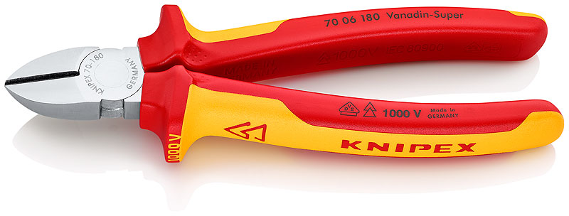 Kìm cắt 180 mm 70 06 180 KNIPEX