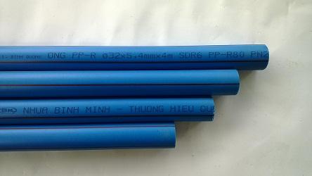 Ống nhựa chịu nhiệt PPR 25 x 4.2mm TGCN-30754 NHUABINHMINH