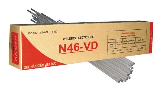 Que hàn thép Carbon thấp 2.5 mm N46 - VD 2.5 mm VIETDUC