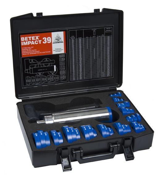 Bộ dụng cụ đóng vòng bi 39 vòng IMPACT39 BETEX
