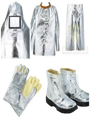 Bộ quần áo chịu nhiệt CN06 BLUE-EAGLE