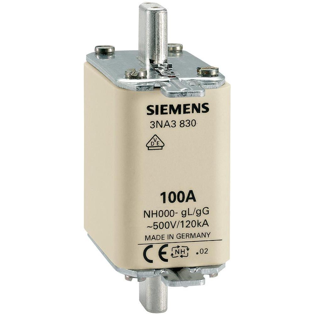 Cầu chì size 000  3NA3830 100A-500V Siemens