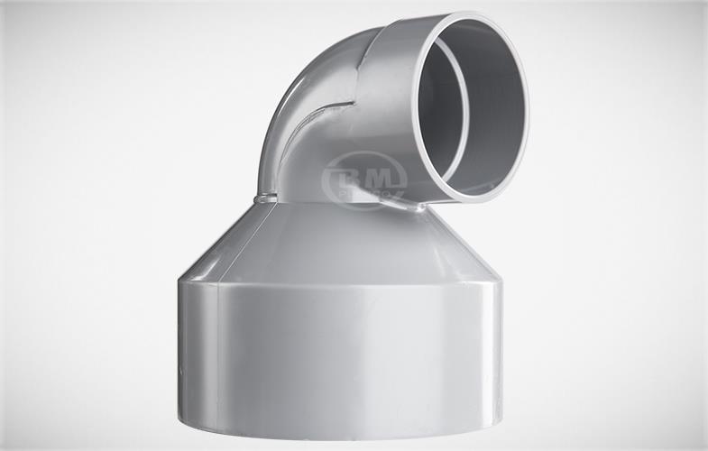 Co rút 90 độ 114 x 90mm mỏng PVC TGCN-31534 NHUABINHMINH