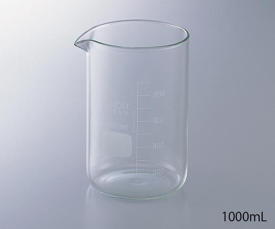 Cốc có thành dày 1000ml 1-8401-05 ASONE