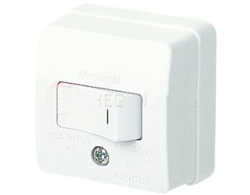 Công tắc B đơn loại nổi 300V- 16A WSG3001 Panasonic