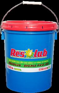 Dầu nhờn cao cấp cho động cơ xăng và diesel SIGMA PRO 40 RESOLUB