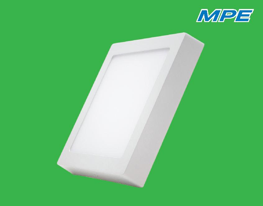 Đèn LED panel vuông nổi 12W SSPL-12V MPE