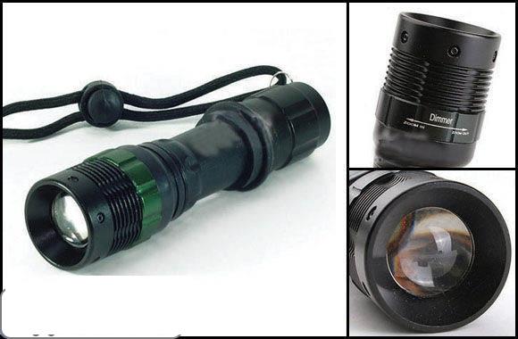Đèn pin siêu sáng  SS-8033 SmilingShark