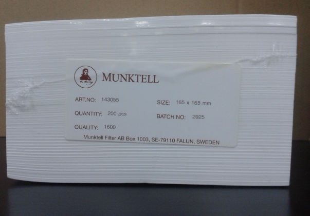 Giấy lọc  143055 MUNKTELL-AHLSTROM